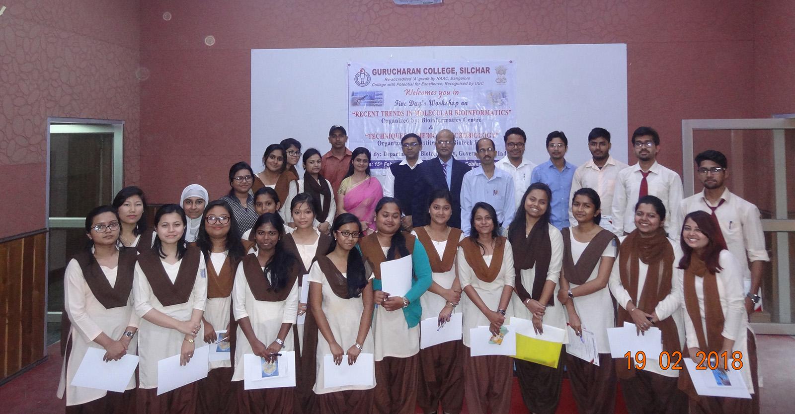 Bioinformatics Centre, Gurucharan College, Silchar